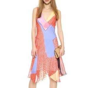 Diane Von Furstenberg Silk Dita Starfish Dress